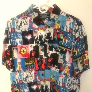 Rolling Stones button up